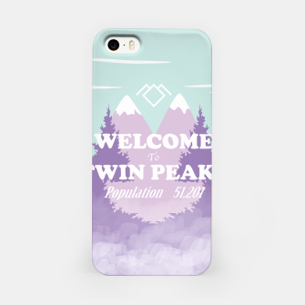 Miniatur Welcome to Twin Peaks iPhone Case, Live Heroes
