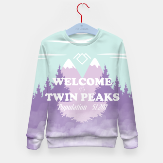 Miniatur Welcome to Twin Peaks Kid's Sweater, Live Heroes