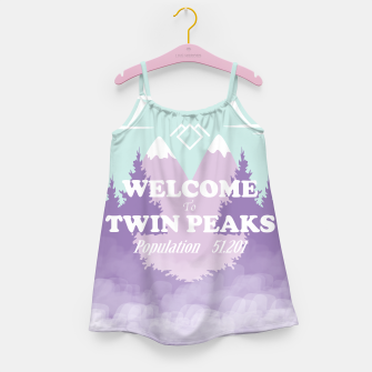 Miniatur Welcome to Twin Peaks Girl's Dress, Live Heroes
