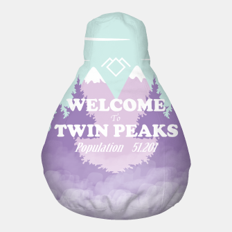 Miniatur Welcome to Twin Peaks Pouf, Live Heroes