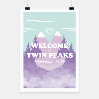 Miniaturka Welcome to Twin Peaks Poster, Live Heroes