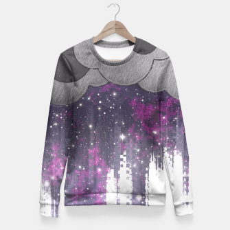 Thumbnail image of Strange Weather Fitted Waist Sweater, Live Heroes