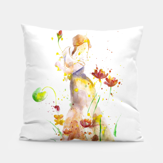 Miniatur WOMAN'S ABSTRACT - FALL  Pillow, Live Heroes