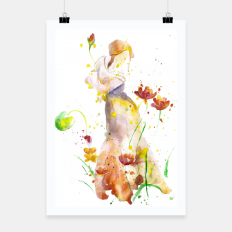 Miniaturka WOMAN'S ABSTRACT - FALL  Poster, Live Heroes