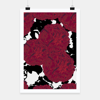 Miniaturka FLOWERY MARBLE MESS  Poster, Live Heroes