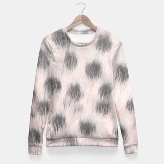 Thumbnail image of Pink Cheetah Animal Print Fitted Waist Sweater, Live Heroes