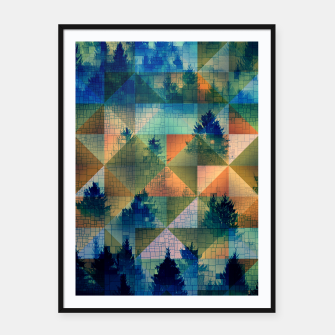 Thumbnail image of Forest Framed poster, Live Heroes