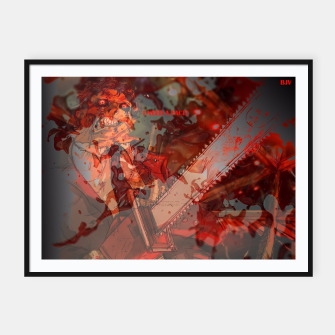 Thumbnail image of texas chainsaw massacre i need a face! Framed poster, Live Heroes