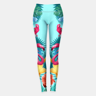 Thumbnail image of Flamingos Leggings, Live Heroes