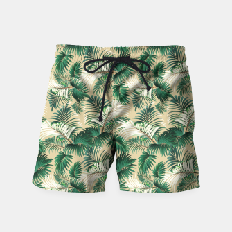 Thumbnail image of Tropical Jungle Swim Shorts, Live Heroes