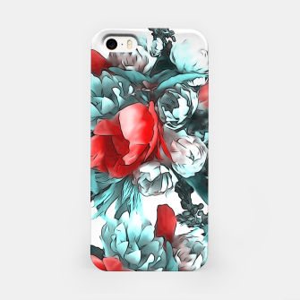 Miniaturka Red Flowers  iPhone Case, Live Heroes