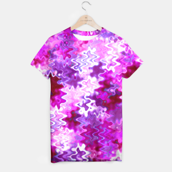 Miniaturka Magenta Marble Melting  T-shirt, Live Heroes