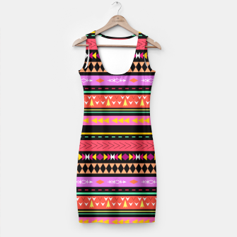 Miniaturka Colorful Boho Tribal Pattern 2 Kleid, Live Heroes