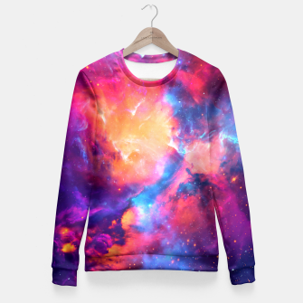 Thumbnail image of Nebula Fitted Waist Sweater, Live Heroes