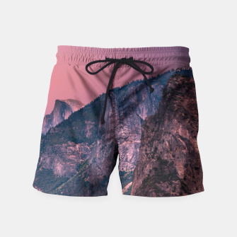 Miniatur Yosemite Valley Swim Shorts, Live Heroes