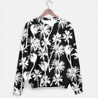 Thumbnail image of messy palm trees Sweater, Live Heroes