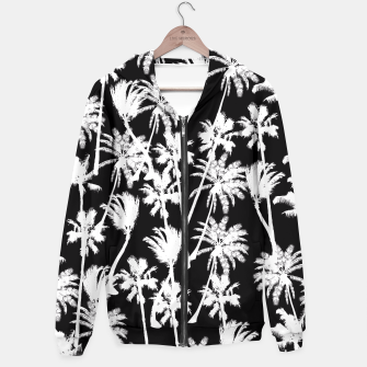 Thumbnail image of messy palm trees Hoodie, Live Heroes