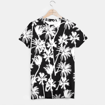 Thumbnail image of messy palm trees T-shirt, Live Heroes