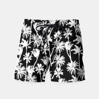 Thumbnail image of messy palm trees Swim Shorts, Live Heroes
