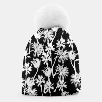 Thumbnail image of messy palm trees Beanie, Live Heroes