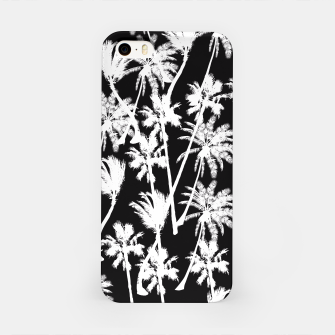 Thumbnail image of messy palm trees iPhone Case, Live Heroes