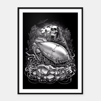 Thumbnail image of Winya No. 97 Framed poster, Live Heroes