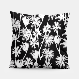 Thumbnail image of messy palm trees Pillow, Live Heroes