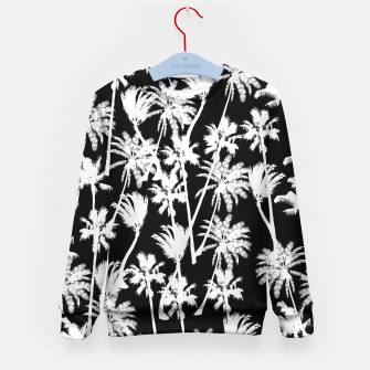 Thumbnail image of messy palm trees Kid's Sweater, Live Heroes