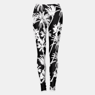 Thumbnail image of messy palm trees Leggings, Live Heroes