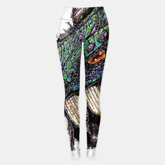 Thumbnail image of Hello. I'm your nightmare Leggings, Live Heroes