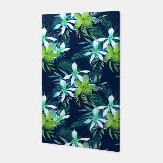 Thumbnail image of Tropical Flowers Pattern Canvas, Live Heroes