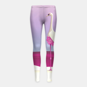 Flamingo Fatale Kinder-Leggins thumbnail image