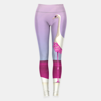 Thumbnail image of Flamingo Fatale Leggings, Live Heroes