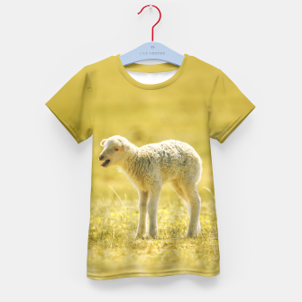 Thumbnail image of Affecting Lamb Kid's T-shirt, Live Heroes