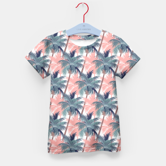 Thumbnail image of Vintage Palm Trees T-Shirt für Kinder, Live Heroes