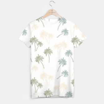 Thumbnail image of Decorative Palm Trees T-Shirt, Live Heroes
