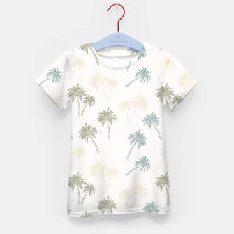 Thumbnail image of Decorative Palm Trees T-Shirt für Kinder, Live Heroes