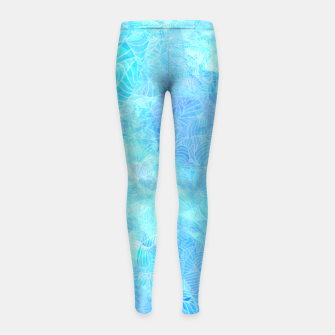 Thumbnail image of blt Girl's Leggings, Live Heroes
