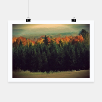 Thumbnail image of New England Autumn Poster, Live Heroes