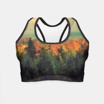 Thumbnail image of New England Autumn Crop Top, Live Heroes