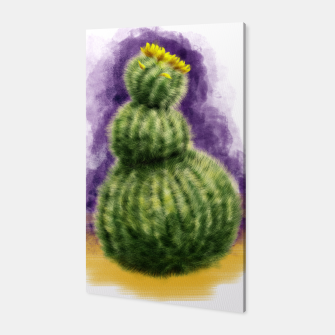 Thumbnail image of Barrel Cactus Canvas, Live Heroes