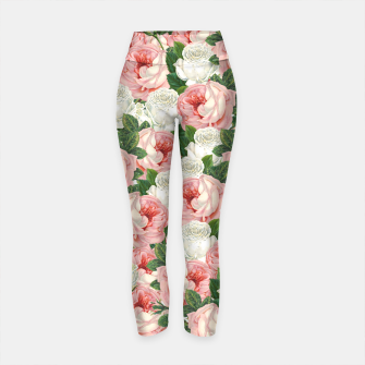 Thumbnail image of Juliet - Romantic Roses Yoga Pants, Live Heroes