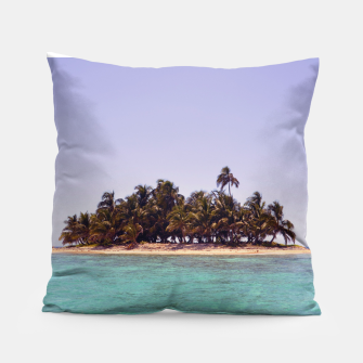 Thumbnail image of Tropical Caribbean Island Pillow, Live Heroes
