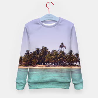 Thumbnail image of Tropical Caribbean Island Kid's Sweater, Live Heroes