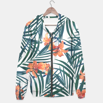 Thumbnail image of Tropical Lilies 2 Hoodie, Live Heroes