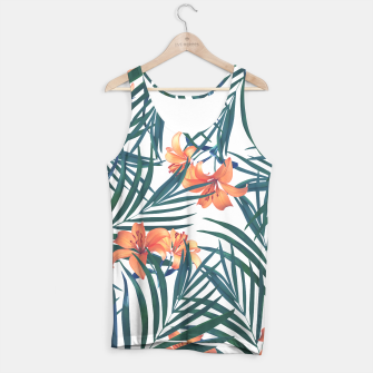 Thumbnail image of Tropical Lilies 2 Tank Top, Live Heroes