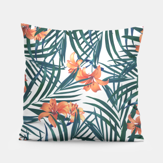 Thumbnail image of Tropical Lilies 2 Pillow, Live Heroes