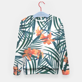 Thumbnail image of Tropical Lilies 2 Kid's Sweater, Live Heroes