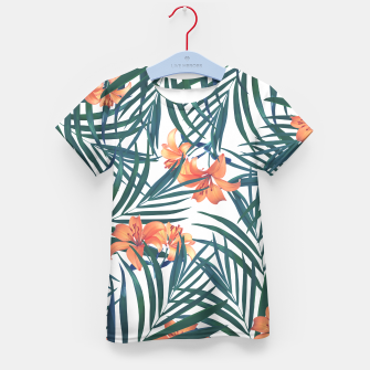 Thumbnail image of Tropical Lilies 2 Kid's T-shirt, Live Heroes