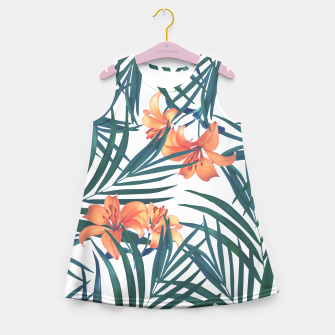 Thumbnail image of Tropical Lilies 2 Girl's Summer Dress, Live Heroes
